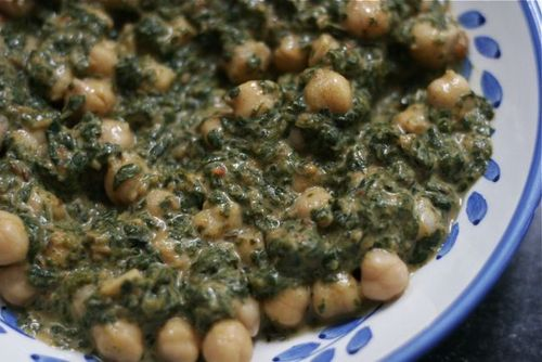 Recipe: Indian Spinach and Chickpeas - Life is in the Details