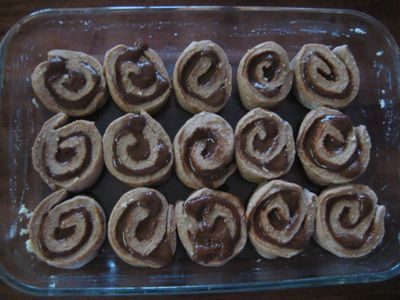 For the Love of Food and Family: Dark and Dangerous Cinnamon Buns