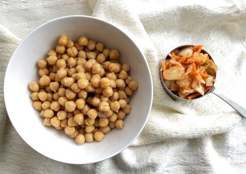 Kimchi Hummus Lettuce Wrap 01
