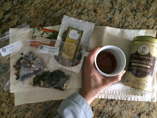 Morning Ritual Tea Choices