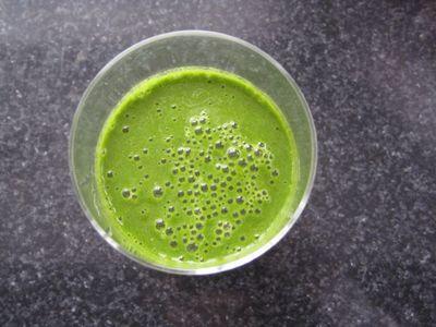Morning Ritural Green smoothie