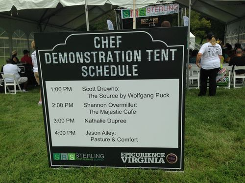 Epicurience chef demo schedule