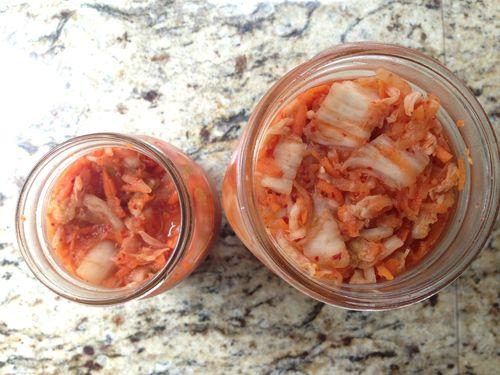 Kimchi is ready