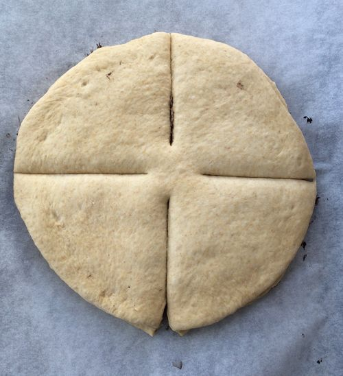 Savory Snowflake Bread 4 slices