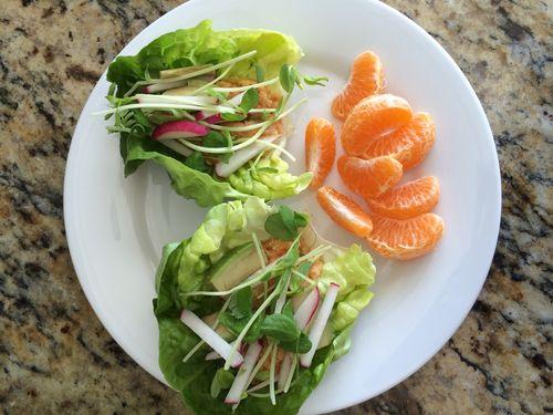 Kimchi Hummus Lettuce Wrap 03