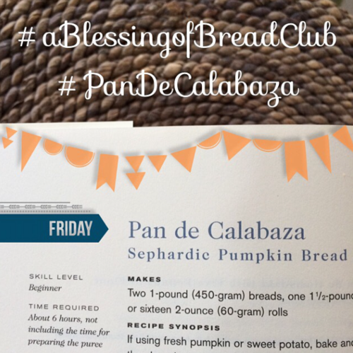 Bread Club Pan de Calabaza